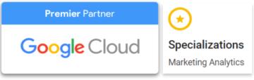 Google Cloud Premier Partner, Marketing Analytics Specialization